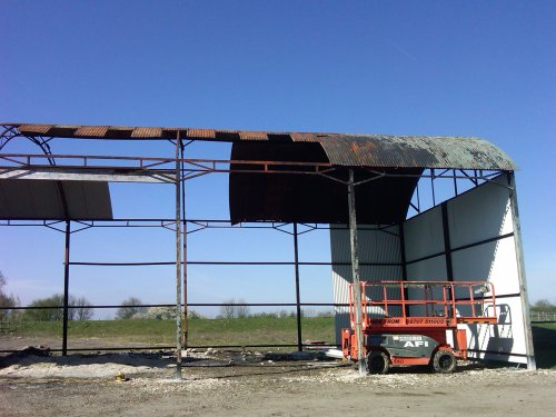 Agricultural Building Roof Repairs