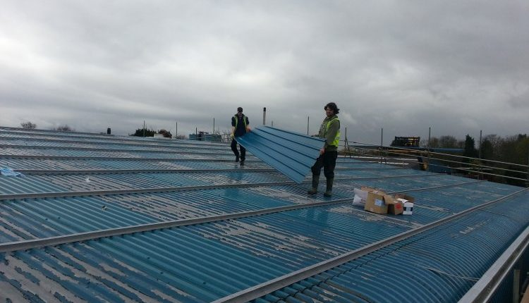 Industrial roof repairs